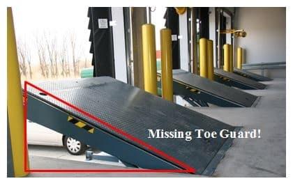 dock equipment safety