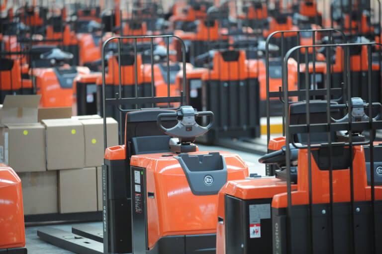 Toyota Forklift fleet