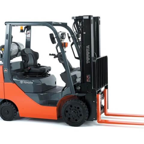Toyota Core IC Cushion Forklift Image