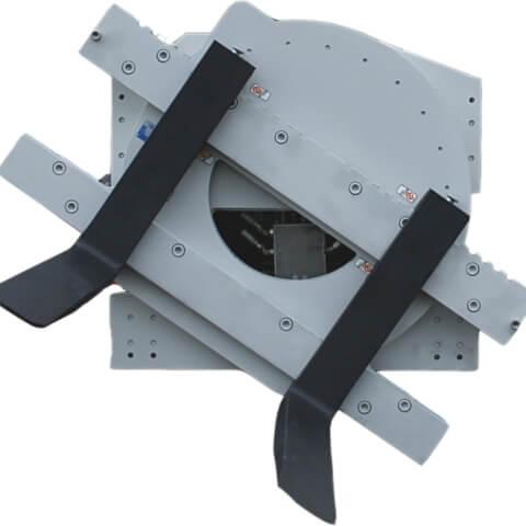 rotator forklift attachment